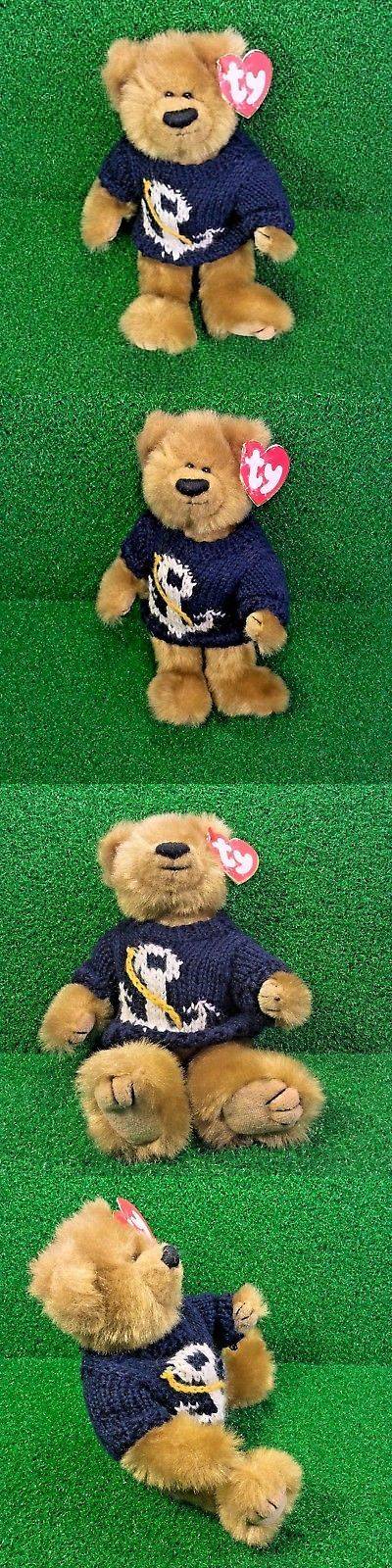 00e806036fb Attic 1627  Rare Ty Attic Treasures Salty The Bear Retired Jointed Plush  Toy Mwnmt -  BUY IT NOW ONLY   27.98 on eBay!
