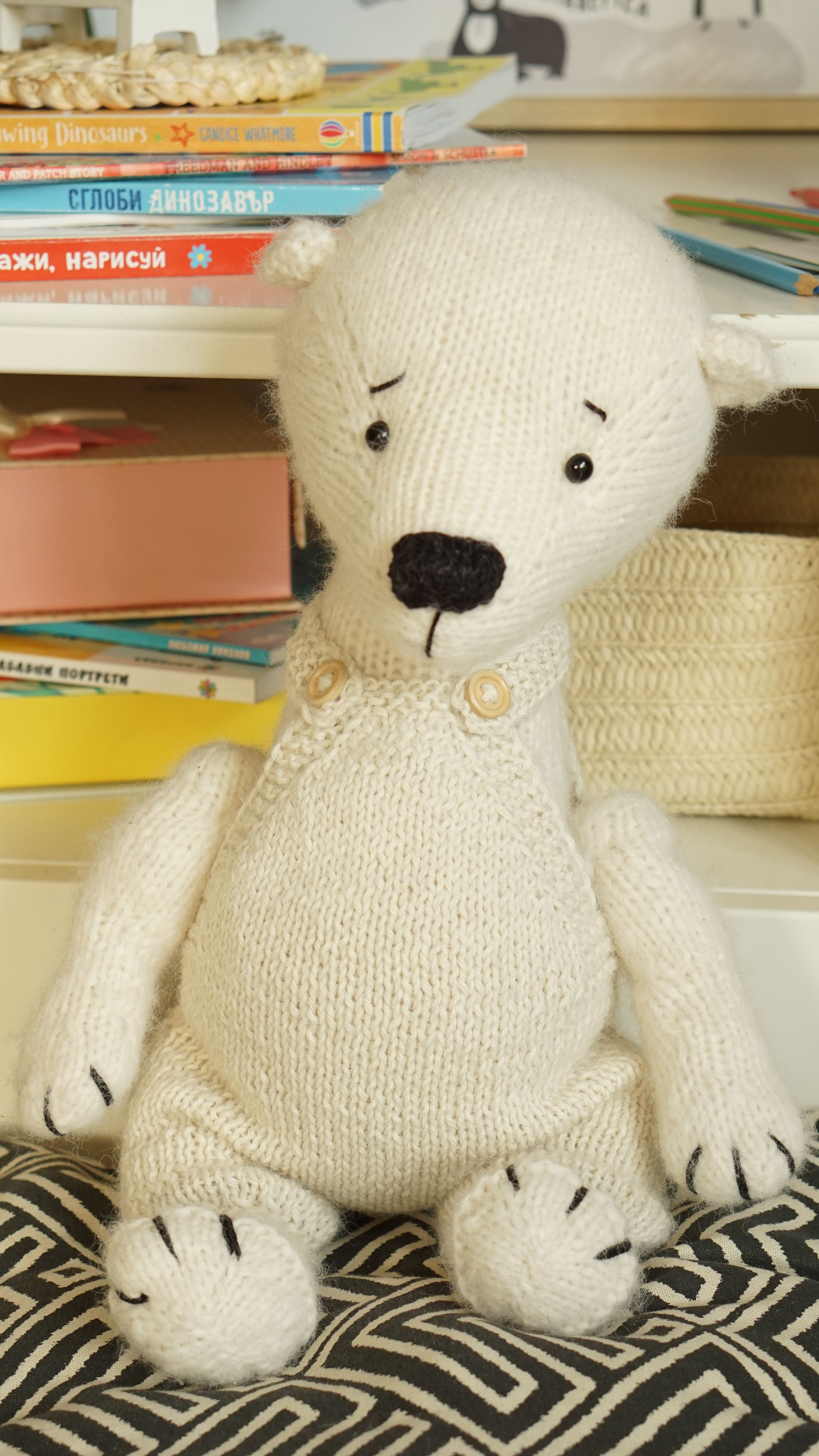 Package 6 animals in one pattern + Free overalls pattern ...