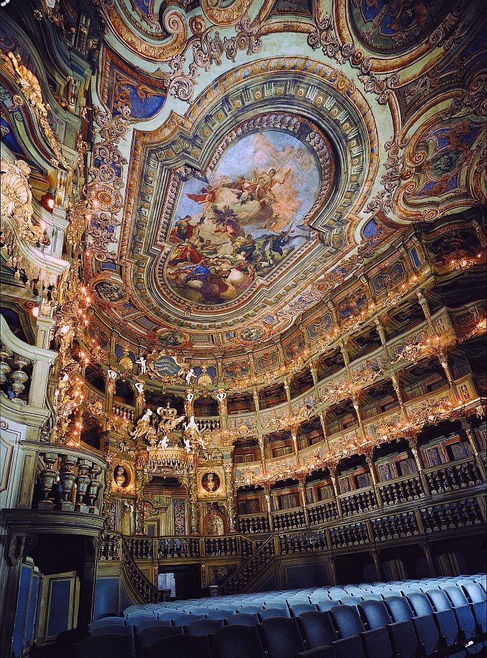 Margravial Opera House Bayreuth Germany Opera Beautiful Architecture Opera House