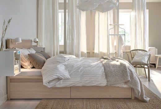 Letto contenitore ikea gressvik cerca con google idee per casa cavanelli pinterest - Ikea malm letto matrimoniale ...