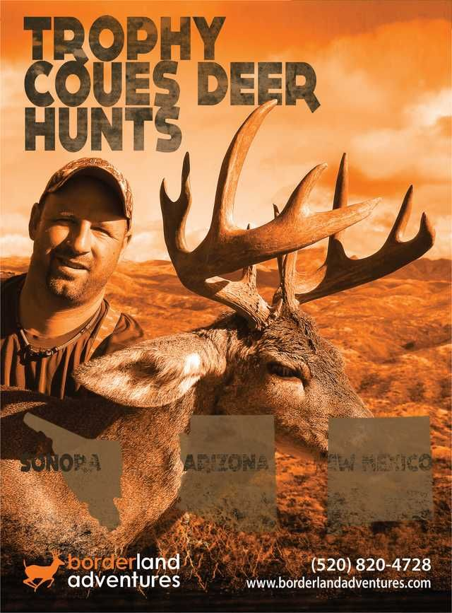 Trophy Coues Deer Hunts Sonora, Arizona, New Mexico border land adventures Western Whitetail - Winter 2013 - Page 16-17