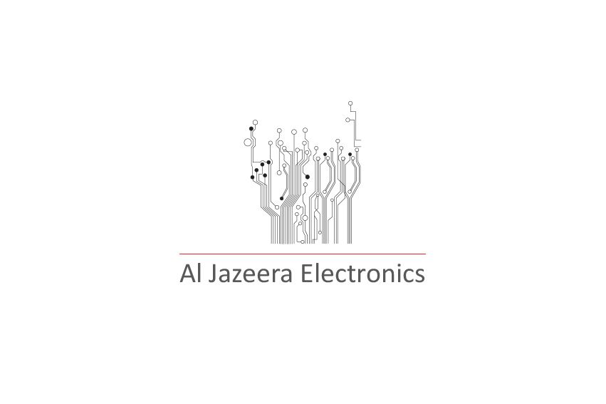 Logo Design For Al Jazeera Electronics By Conqueror IT Dubai Conquerorae