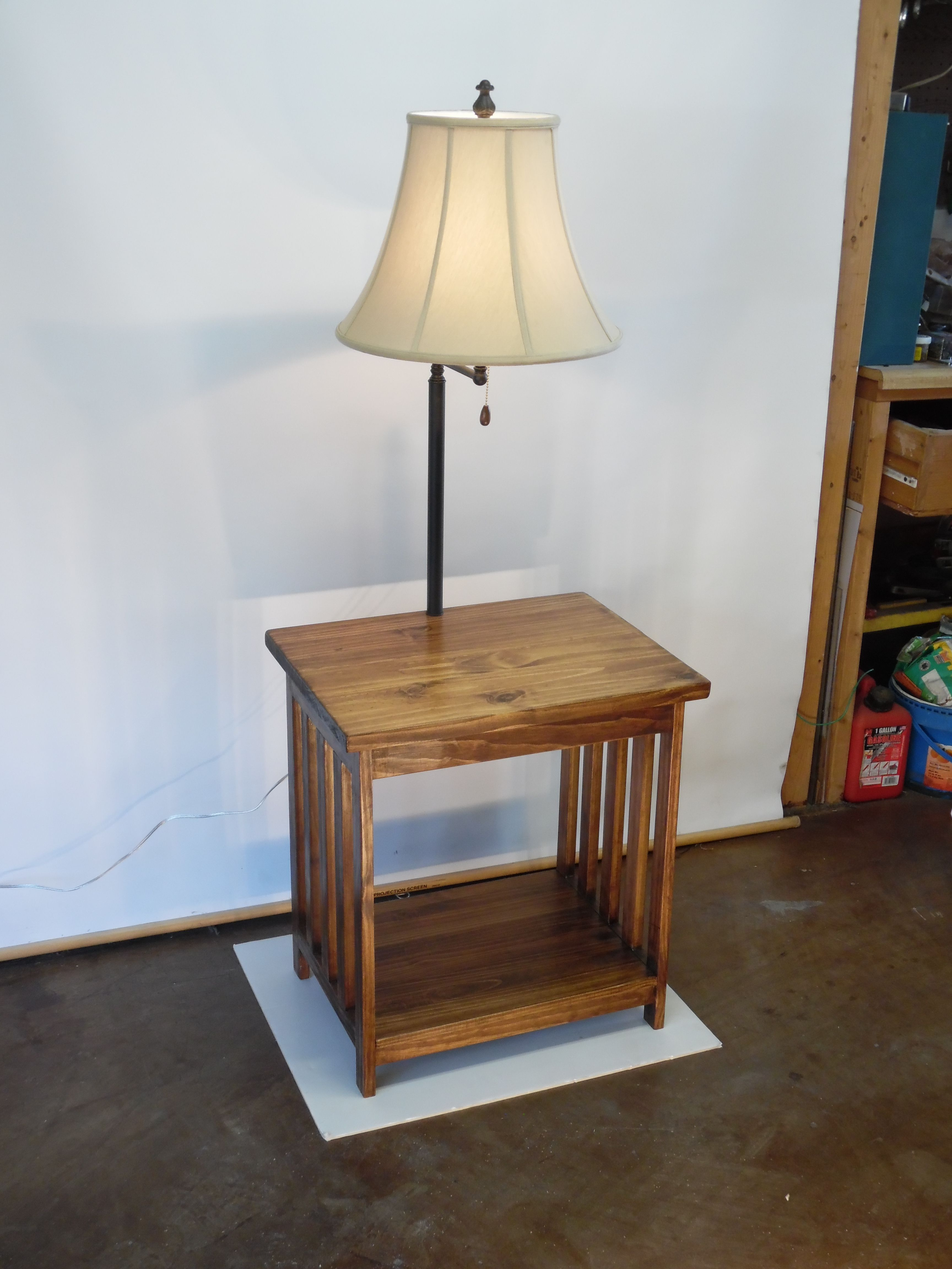 Mission style floor lamptable by william hand crafted very mission style floor lamptable by william hand crafted very useful lamps aloadofball Choice Image