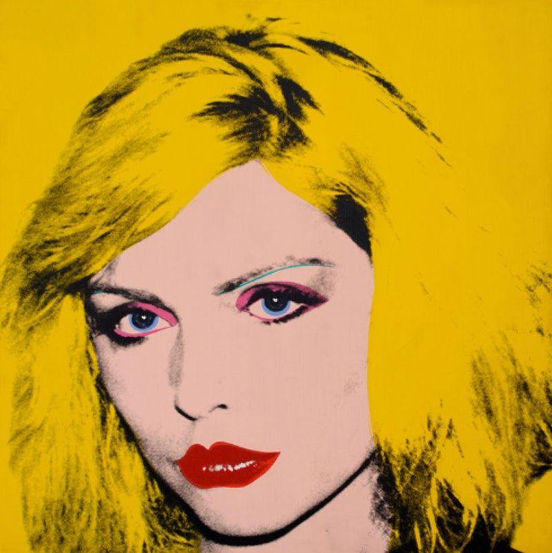 Debbie Harry, bu Andy Warhol #andywarhol