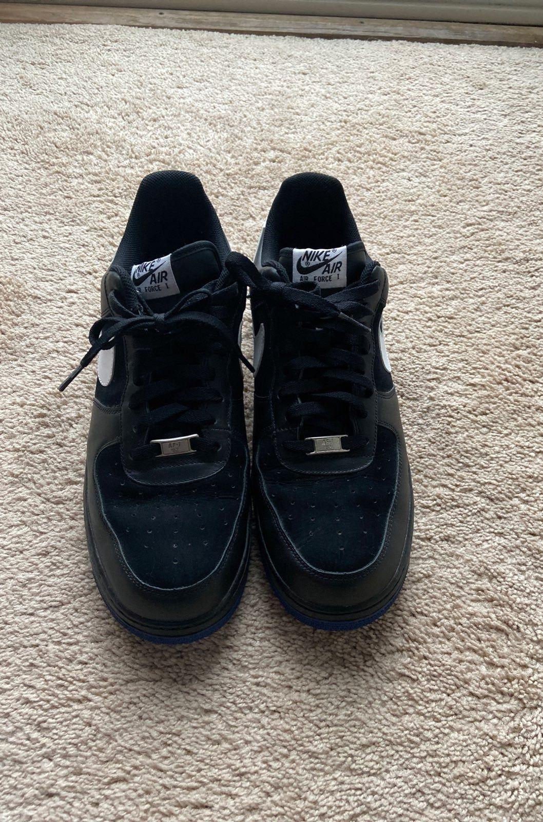 Nike Air Force 1 '82 Black/White/Purple