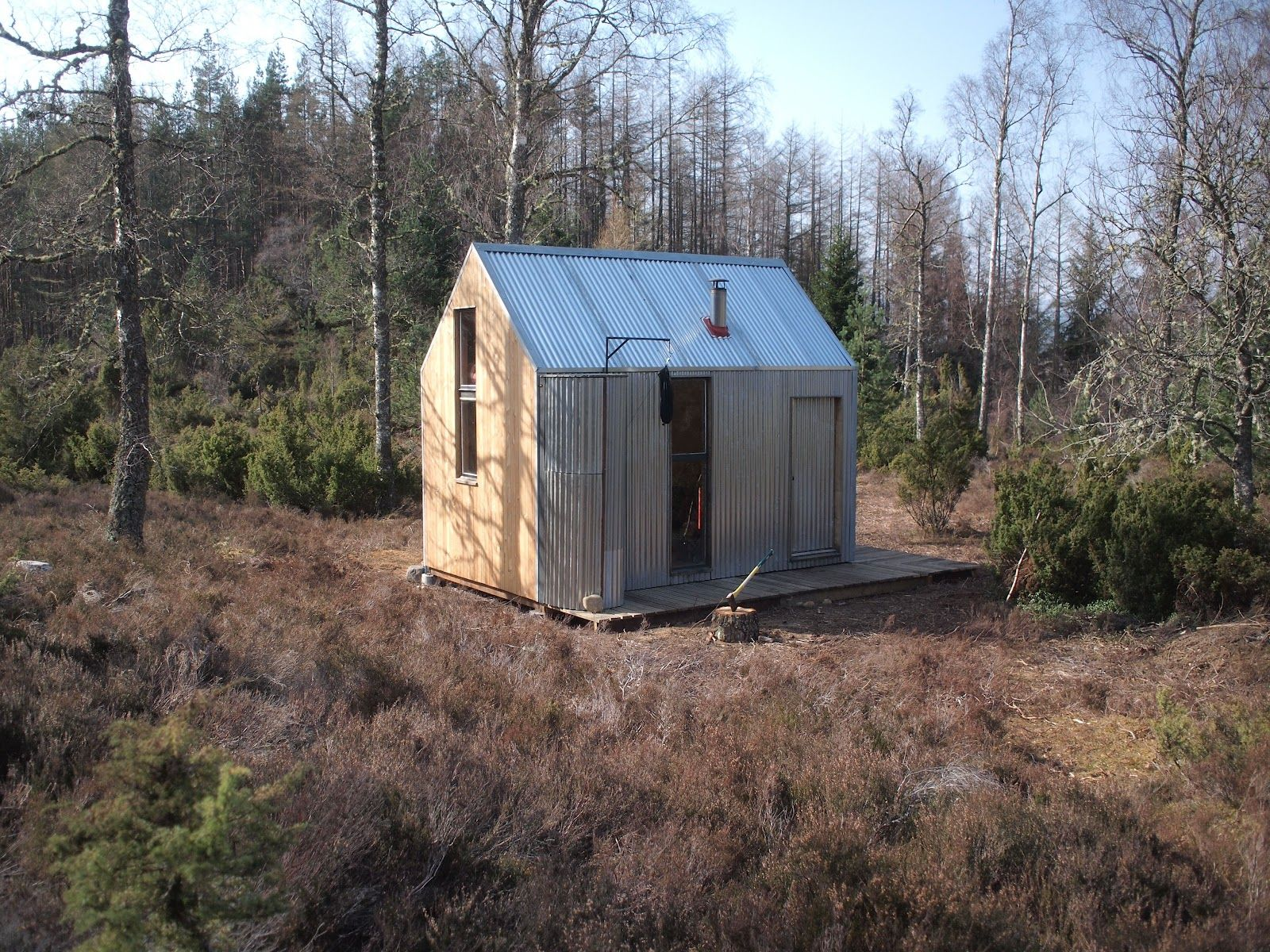 thebothyproject: Inshriach Bothy