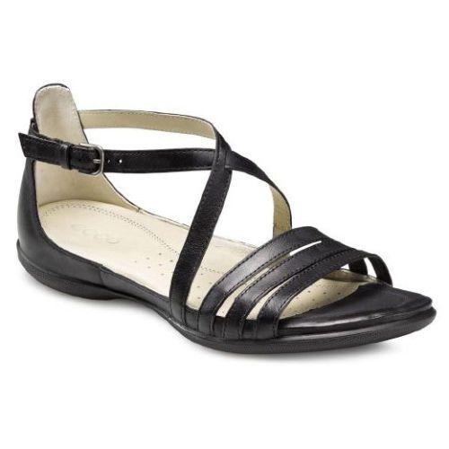 89f53d1326 Ecco Flash Black Sambal Ladies Comfort Sandals | shoes | Shoes ...
