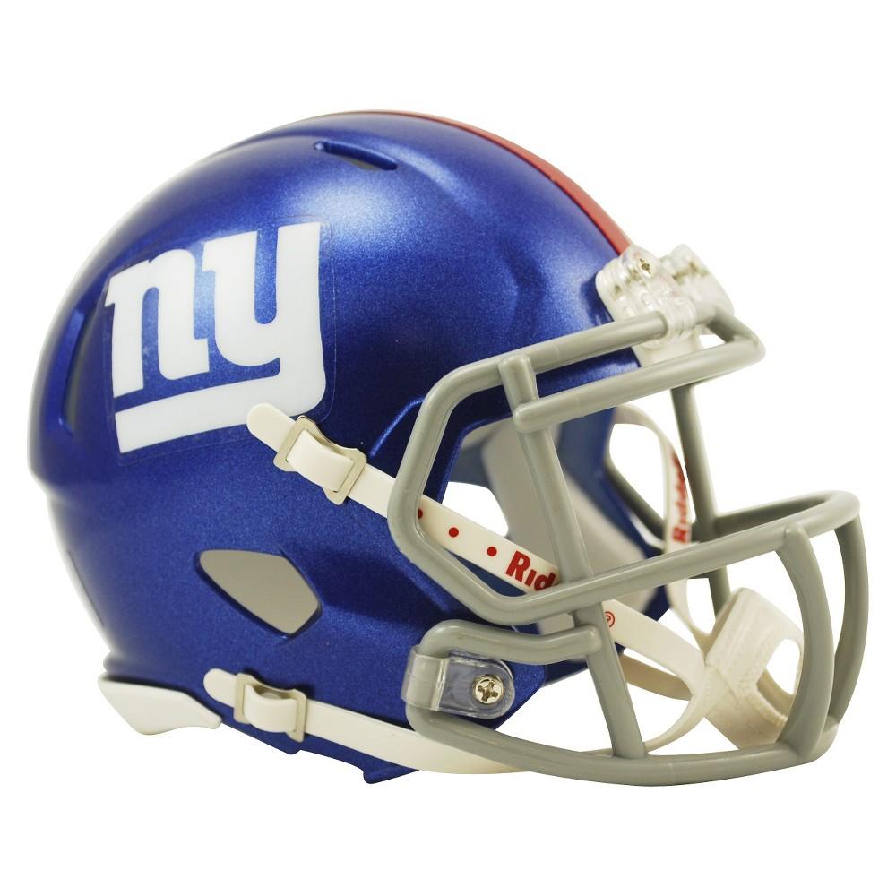New York Giants Riddell Speed Mini Helmet - Blue  e77fa5f1c