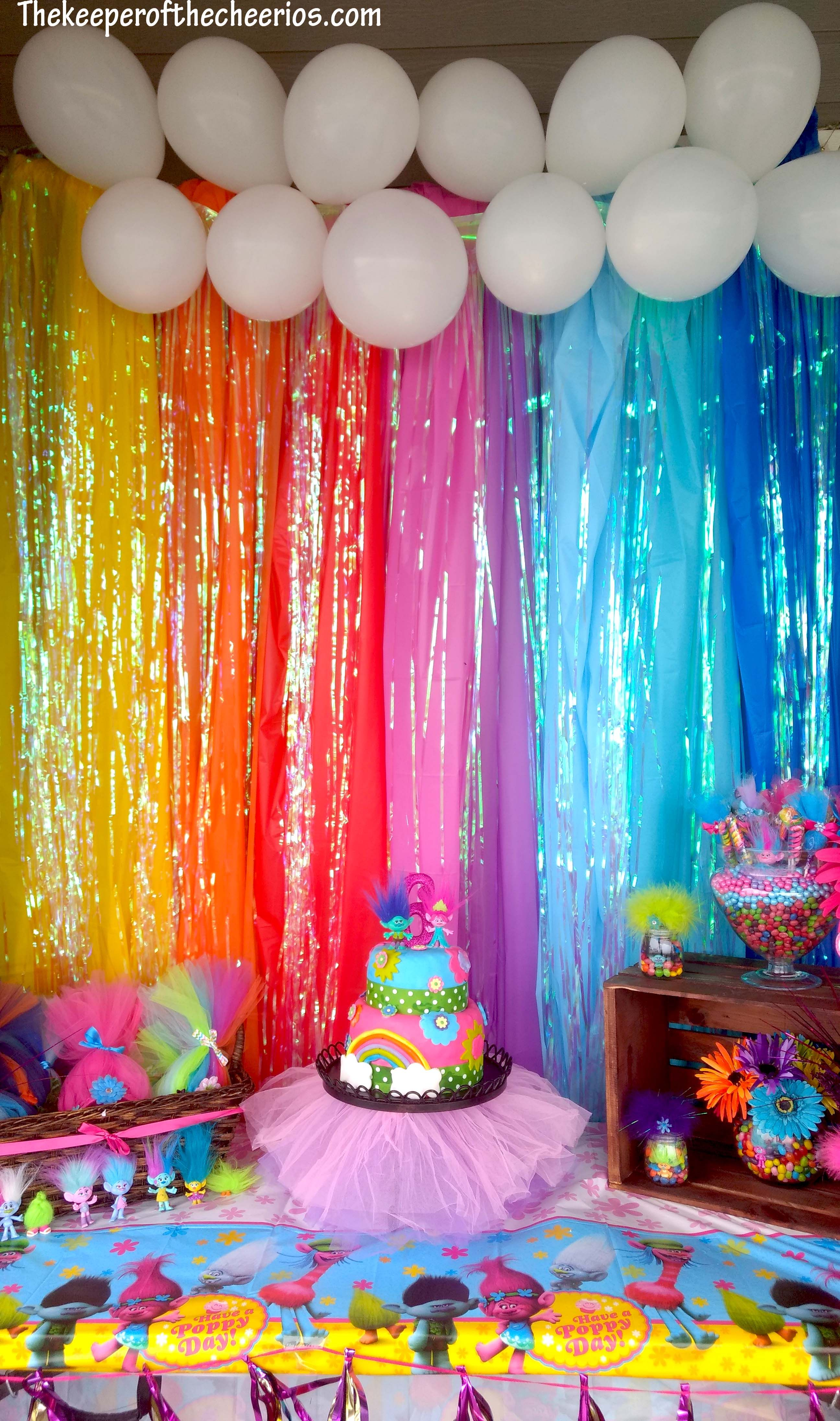Hula Hoop Girl Wallpaper Trolls Birthday Party Parties Pinterest Trolls