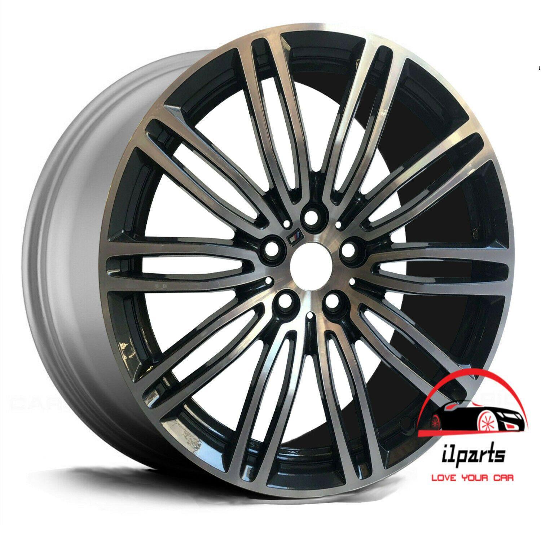 Bmw 530i 540i 2017 2018 19 Factory Oem Machined Charcoal Wheel Rim Wheel Rims Wheel Bmw