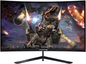 27 1800r Curved Gaming Monitor Up To 144hz Refresh Rate More