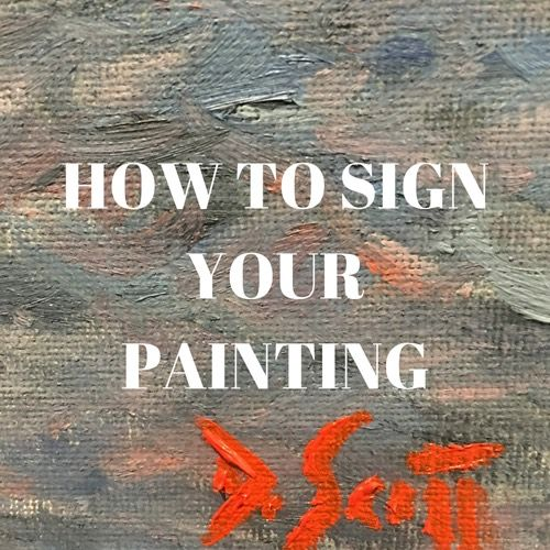 Struggling To Find The Perfect Artist Signature For Your New