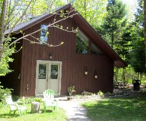 Cozy Cabin In The Woods Between Fish Creek And Ephraimvacation Rental In Fish Creek From Homeaway Vacation Rental Tr Cabin Cozy Cabin Cabins In The Woods