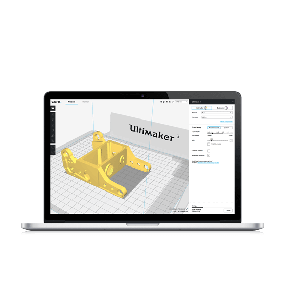 Ultimaker Cura: Advanced 3D Printing Software, Made