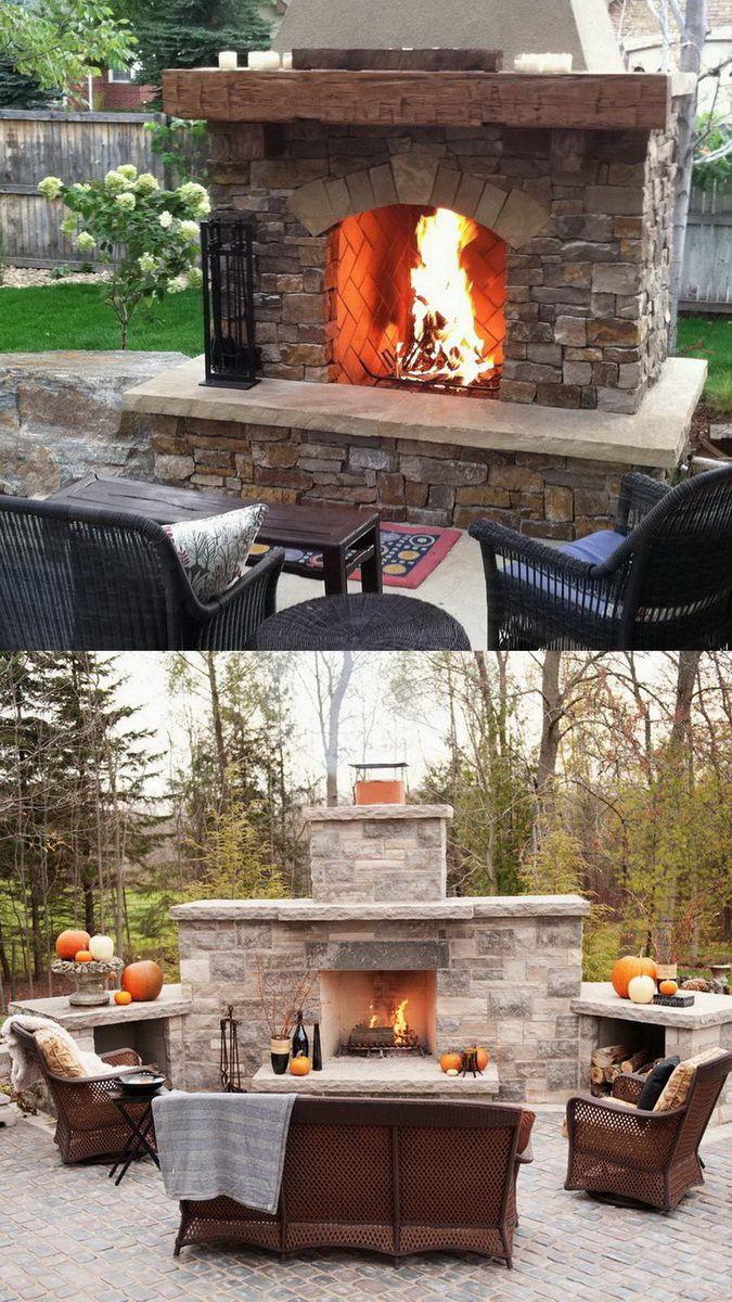 amusing outdoor kitchen designs | Amazing Outdoor Fireplace Designs Part 2 — Style Estate in ...