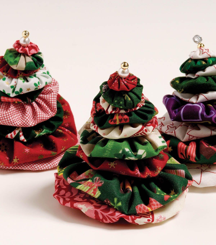 How To Make A Holiday Yo Yo Tree Joann Jo Ann Handmade Christmas Ornaments Christmas Sewing Christmas Crafts