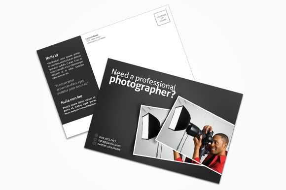 Check Out Photography Postcard By Printdesignbundle On Creative
