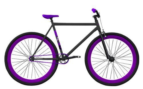 Zycle Fix 53 Cm Fixed Gear Cobra Series Purple Poison Fgfs Fixie