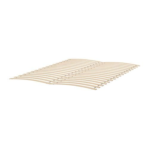 Best Luröy Slatted Bed Base Queen Bed Slats Bed Base Malm 640 x 480