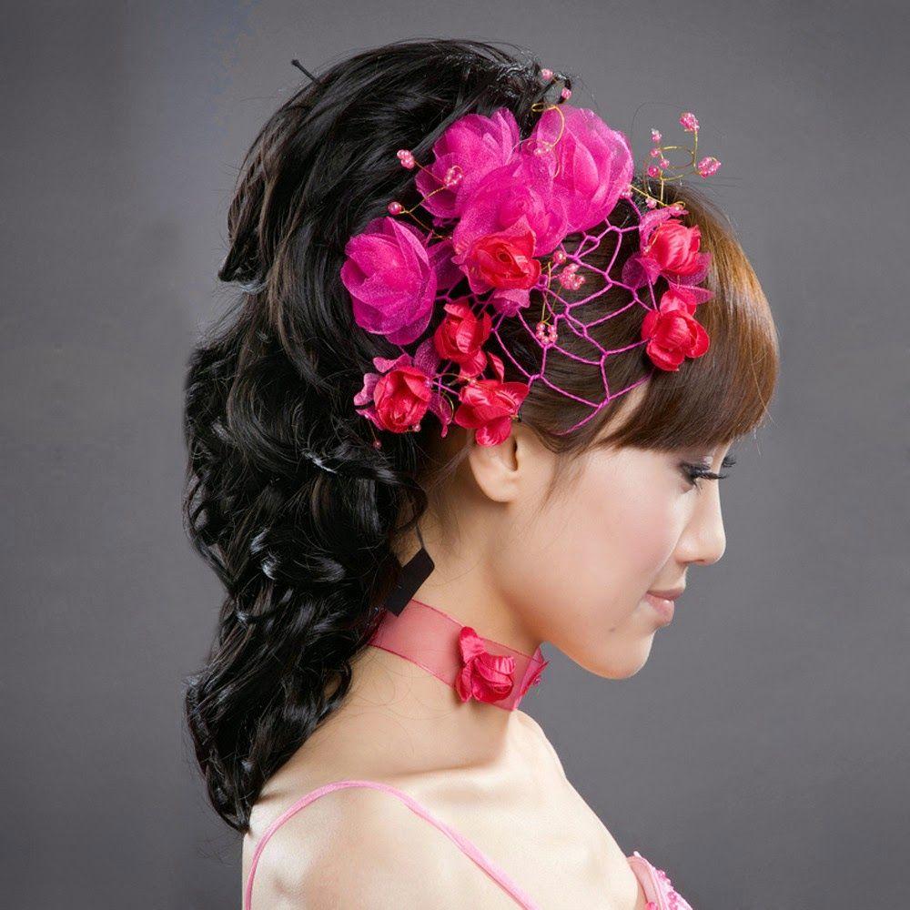 mejores peinados de novia boho recogidos para pelo