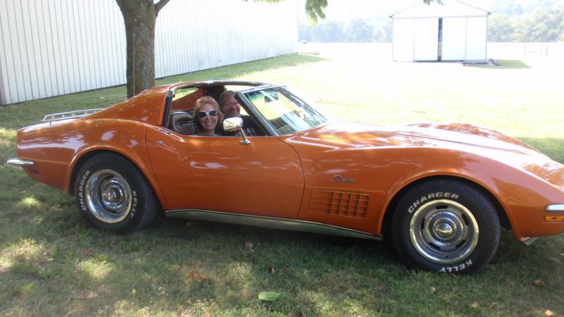 1971 Ontario Orange T Tops Corvette In 2020 Corvette Corvette For Sale Used Corvette