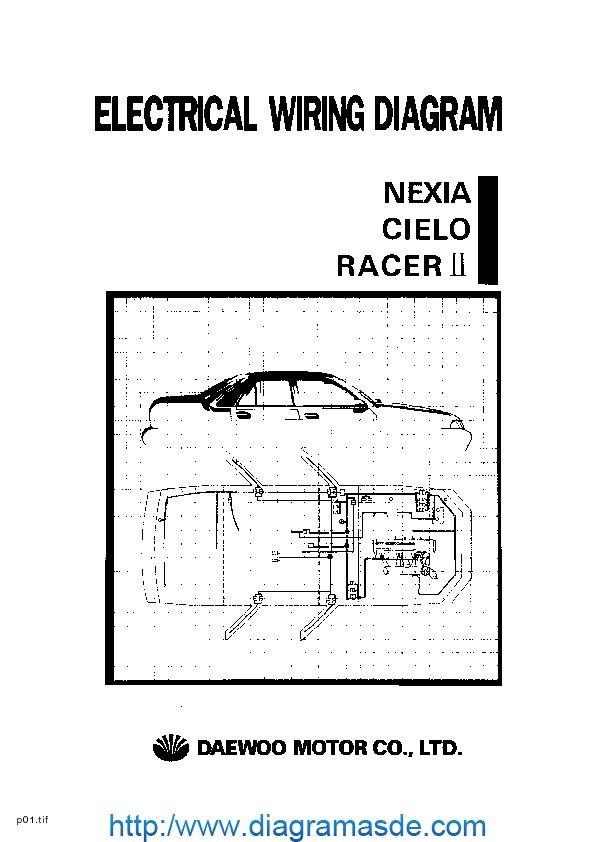 daewoo service electrical manual pdf DAEWOO NEXIA, CIELO y