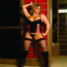 Lindo Espartilho Fataly com meias, realize a maior fantasia de seu parceiro(a). http://gueixasexshop.com.br