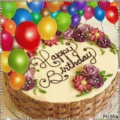 Pin By Zinablog Com On Kalhmera Happy Birthday Candles Happy Birthday Cake Images Happy Birthday Wishes Cake