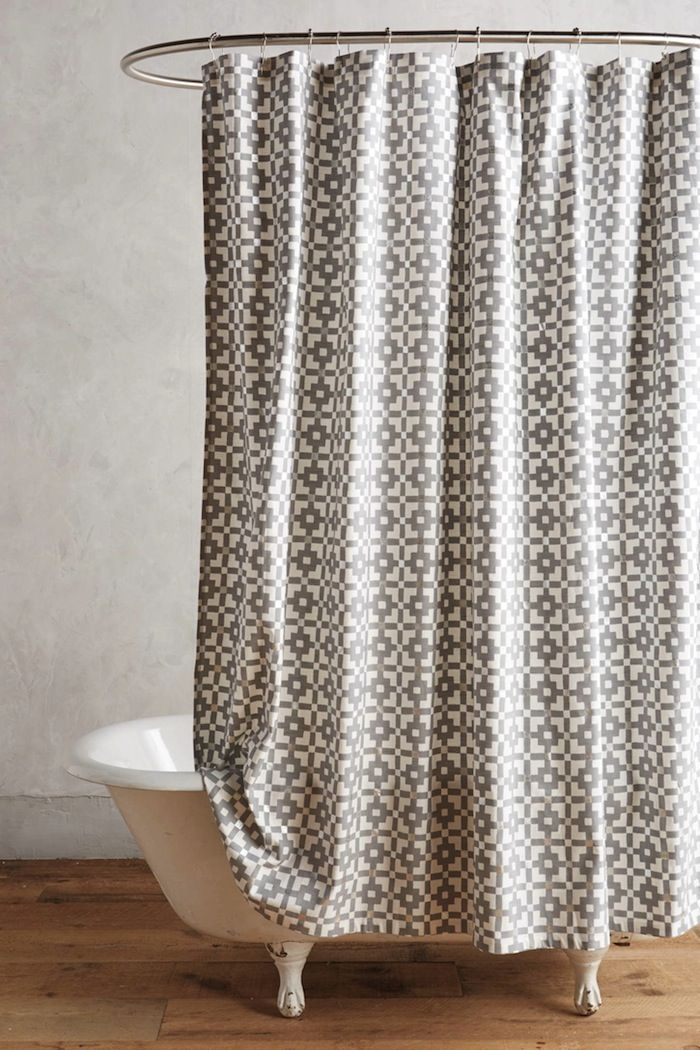 tolles badezimmer makeover mithilfe eines duschvorhangs eingebung bild der eabadabfbaa