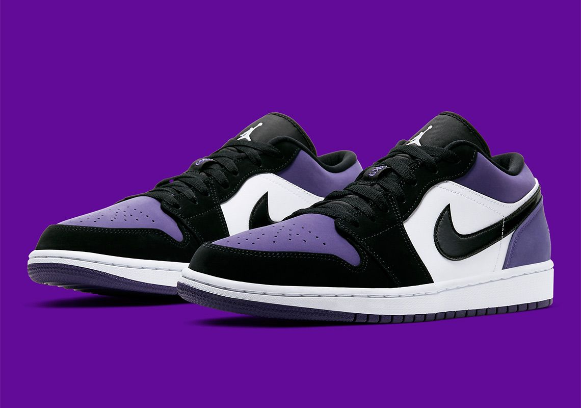 Official images of the Jordan 1 Low