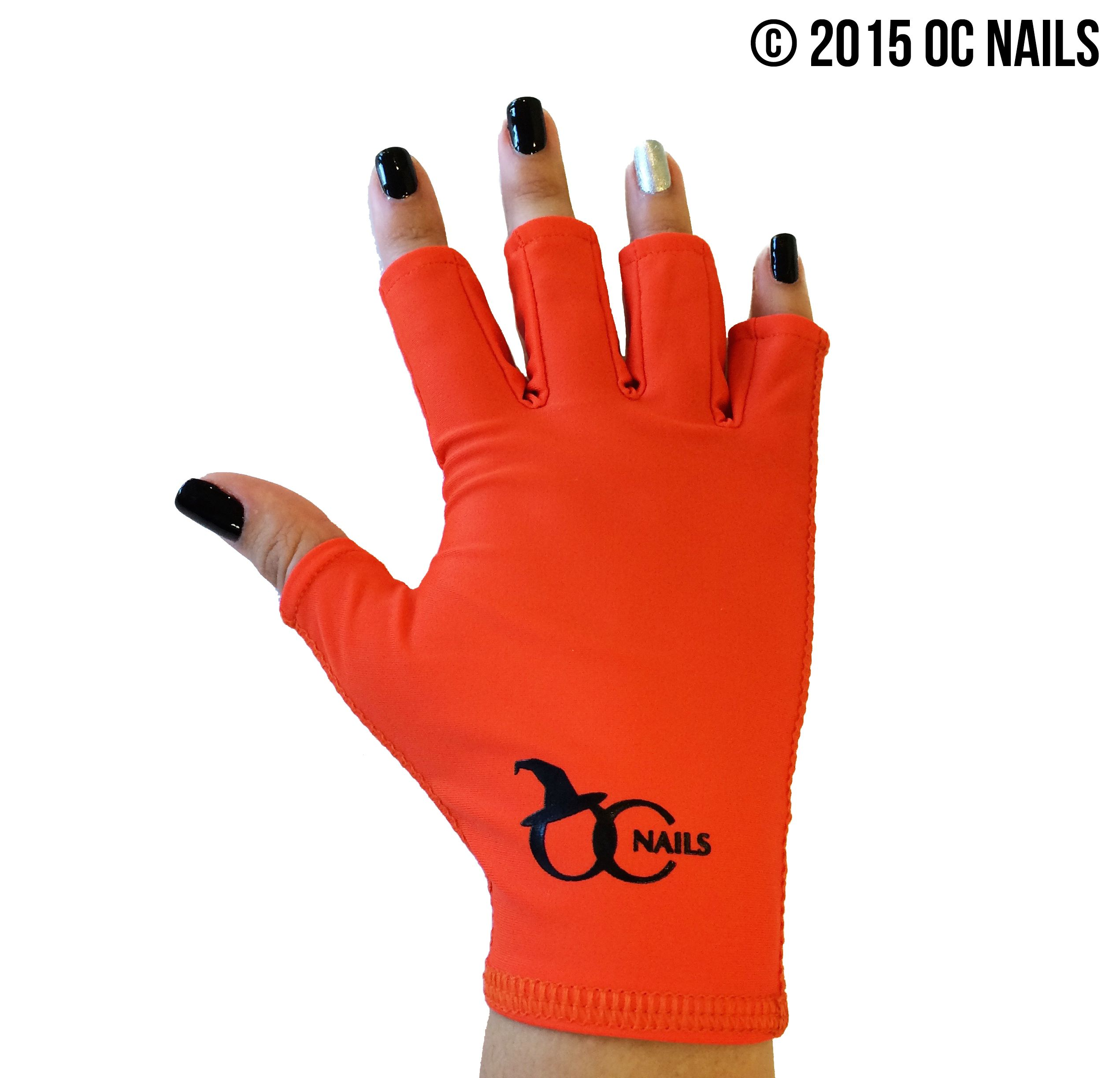 UV SHIELD GLOVE SALON WITCH ~ ONE HAND #ocnails #uvshieldglove ...