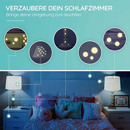 Homery Sternenhimmel 300 Leuchtsterne Selbstklebend Mit Starker Leuchtkraft Fluoreszierende Leuchtsterne Wandtattoo Wandde In 2020 Zimmer Leuchtsterne Kinder Zimmer