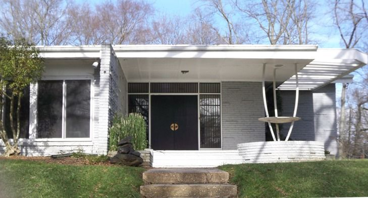 modern charlotte loves the mid-century modern homes of the ...