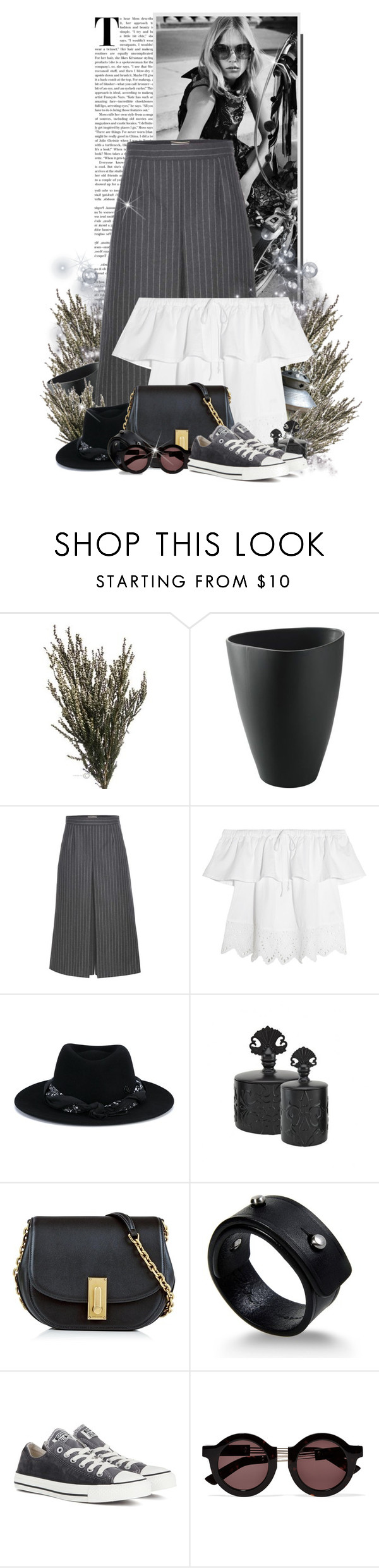 """""""ana"""" by ana-costa-queiroz ❤ liked on Polyvore featuring beauty, Burton, Yves Saint Laurent, Madewell, Maison Michel, Olivine, Marc Jacobs, Rick Owens, Converse and House of Holland"""