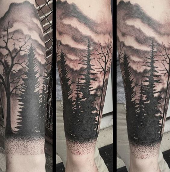Forearm Tree Tattoo Designs