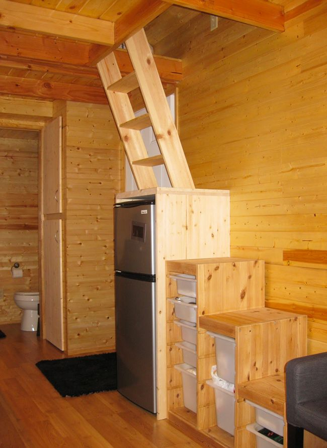 Steps And Ladder Ideas For Your Tiny House Sacred Habitats 3 In 2018 Pinterest On Wheels Loft