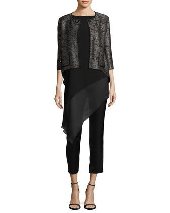 Pants,+Top+&+Jacket+by+St.+John+Collection+at+Neiman+Marcus.