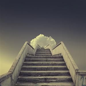 journalofanobody:   Stairway to Heaven, by Caras Ionut  I'd like to imagine it'd be something like this!