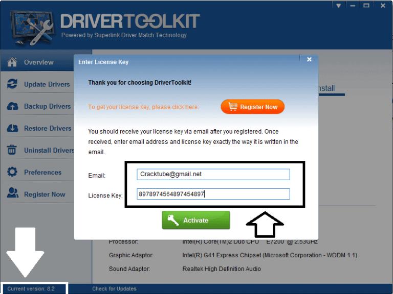 where to check license key microsoft word