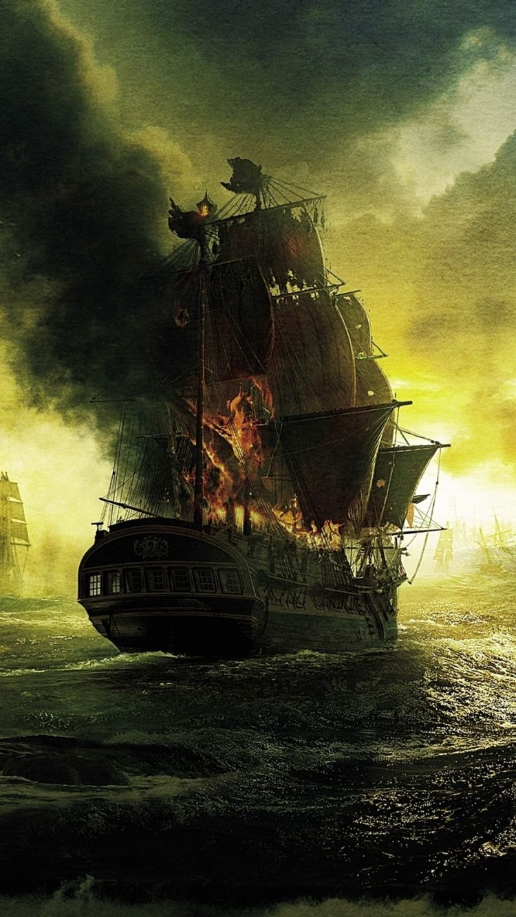 Pirates Of The Caribbean Apple Iphone 6 750x1334 34 Wallpapers Pirates Of The Caribbean Pirates Pirate Art