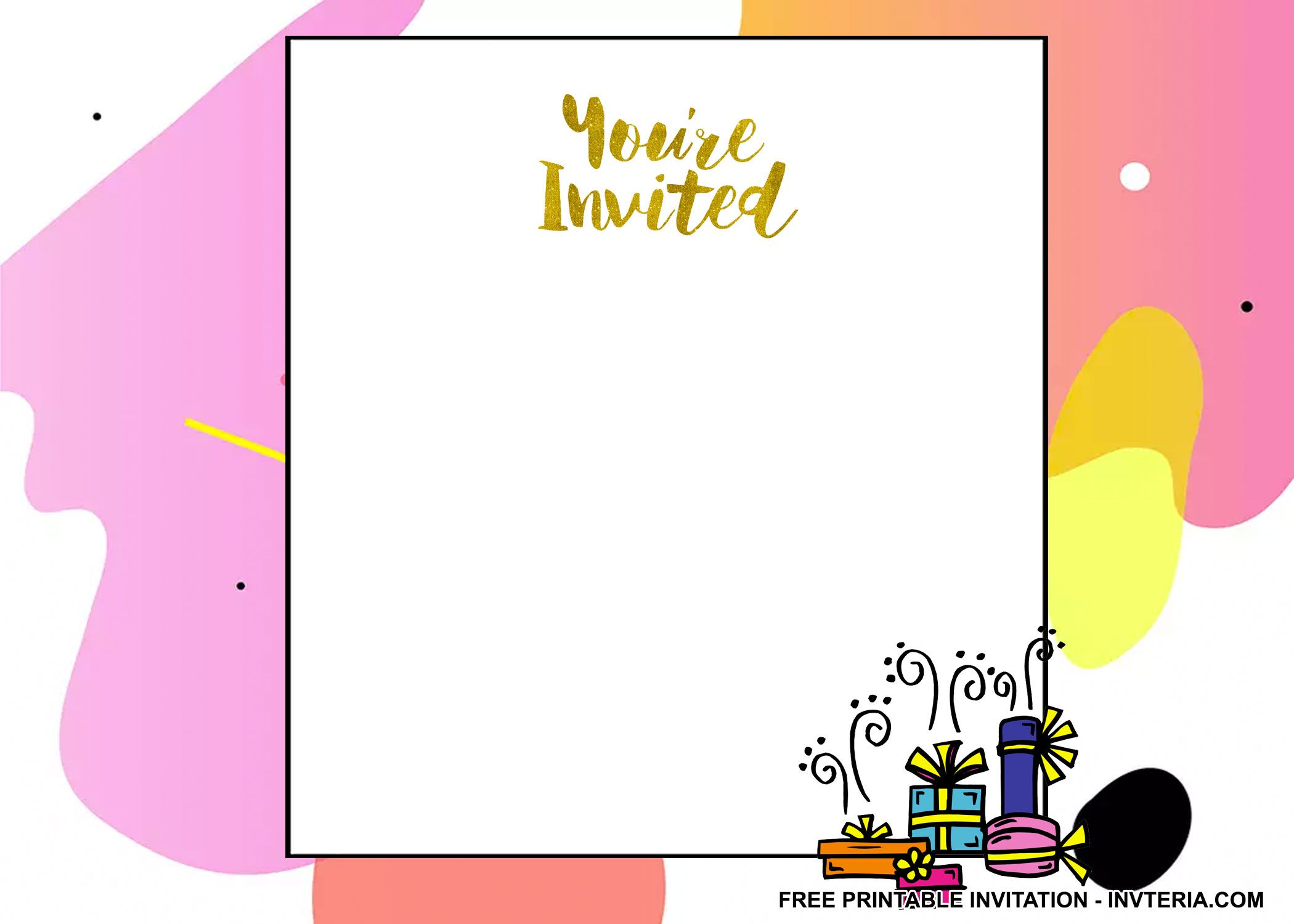 AWESOME FREE PRINTABLE CHEAP 1ST BIRTHDAY INVITATIONS