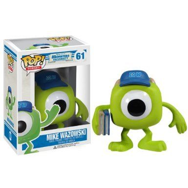 Funko POP Disney Monsters University: Mike Wazowski Vinyl Figure