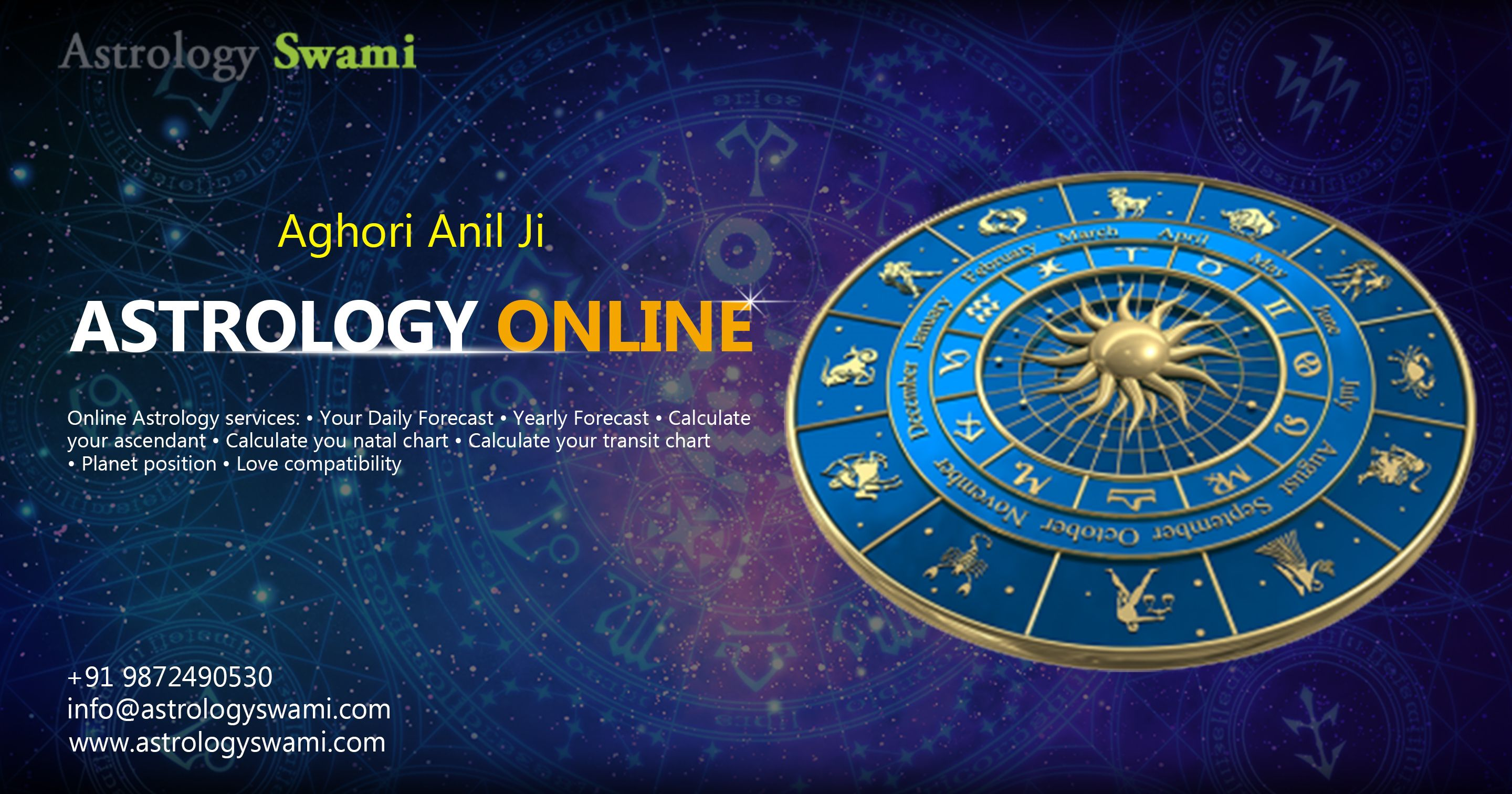 Astrology swami is most popular astrologer in the world