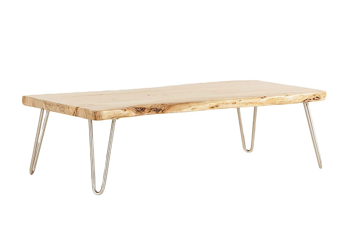 Home Trends Design Vail Natural Coffee Table 54 Furniture