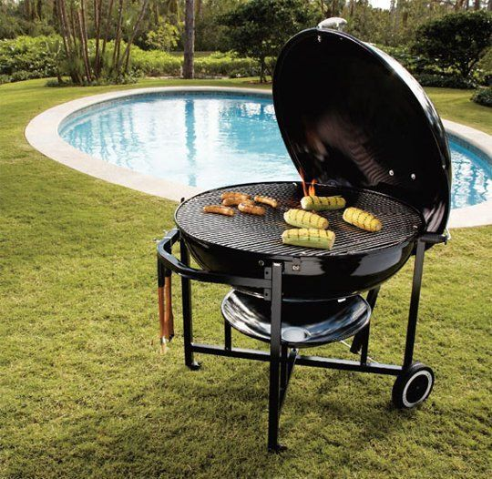 Weber Ranch Kettle Grill Charcoal