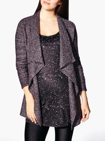 Long Sleeve Maternity Cardigan with Buckle from Thyme Maternity