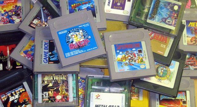 Cartuchos de Game Boy