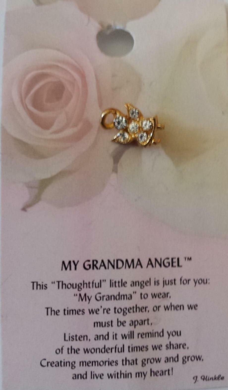 Sympathy ANGEL Pin Thoughtful Little Angel ~ FREE SHIPPING