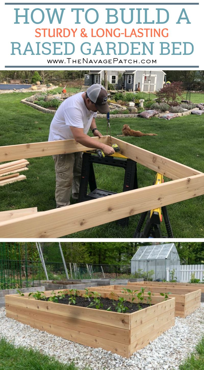 DIY Raised Garden Beds Tutorial Building a raised garden