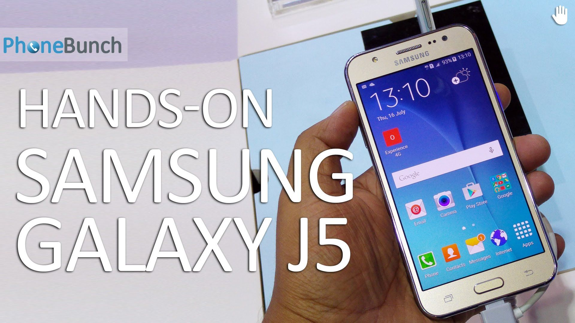 Samsung Galaxy J5 Hands on video with first impressions on camera and performance GalaxyJ5
